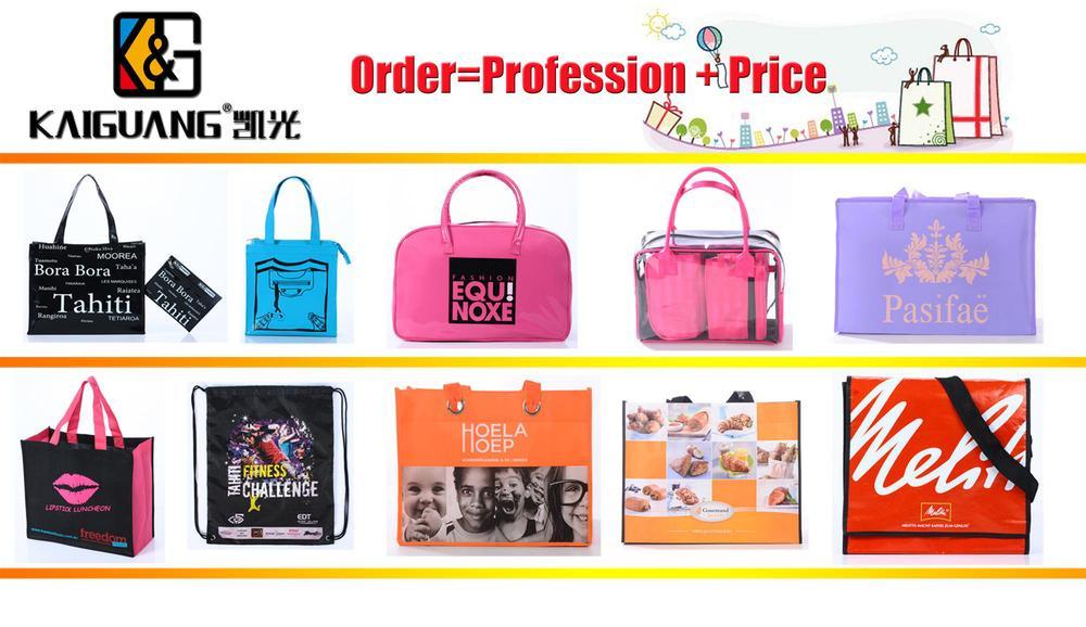2015 Promotional Bag,supermarket bag,Laminated PP woven shopping bag,