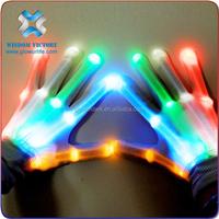 2015 halloween led gloves, led flashing gloves, led gloves wholesale china