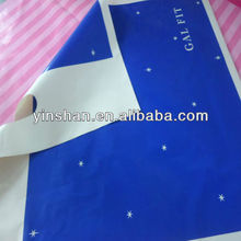 HDPE Cosmetic Recyclable Plastic Bag With Logo