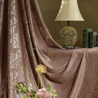 European type curtain, new style curtain, embossed curtain for home