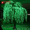 outdoor waterproof white led weeping willow tree light