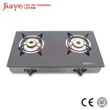 Hot two-head table cast iron cooking stove kitchen 2 burners gas stove JY-TG2004