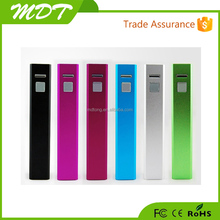 Best selling power bank 2600mah promotional gift portable power bank , mobile power bank charger 2600mah