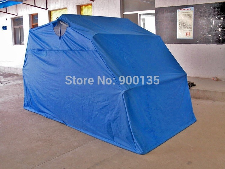 Wholesale foldable outdoor waterproof motorcycle tent cover anti uv simple garage - Motorcycle foldable garage tent cover ...