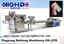 manufactures of plastics utensils with napkin Wrapped disposable packaging machine