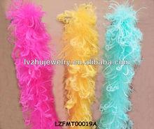 wedding decoration curly Ostrich Feather boas LZFMT00019A