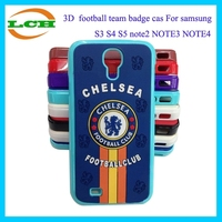 Football club case for Samsung galaxy S3 S4 S5 note2 NOTE3 NOTE4