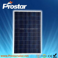 Prostar polycrystalline round solar panel 100W