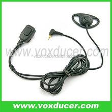 For Motorola talkabout FR50 FR60 square shape PTT the best earhook earphone