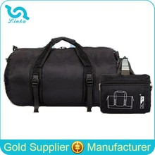 Water Resistant Lightweight Nylon Foldable Travel Bag Duffle Bag Cylinder Foldable Travel Bag