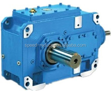 HB series high power industrial helical gear reducer gearboxes specialized design for cooling tower