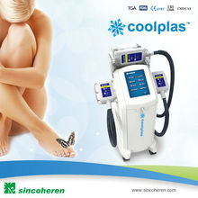 safe and fast weight loss equipment /body slimming beauty machine( Three Cryo heads work together)