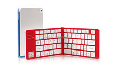 Factory direct sell foldable bluetooth Keyboard,for ipad bluetooth folding keyboard