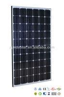Hot sale !quality 255 wp mono solar panel&255 watt monocrystalline solar module 60M
