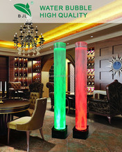 interesting led round acrylic tube tuning light aquarium cylindrique acrylique