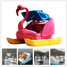 Amusement Park Equipment Kids and Adult Water used pedal boats,cheap pedal boats for sale