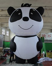 2m/3m/4m/5m tall custom inflatable panda/balloon/model/animal/replica/cartoon/for advertising/promotional/indoor/outdoor W422