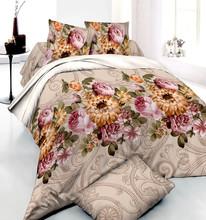 cotton poplin flower pigment fabric