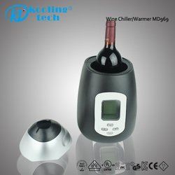 Insulation Sleeve CE approved auto black wine bottle chiller warmer