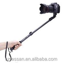 Monopod selfie-stick Black Monopod 1288 with bluetooth shutter,Wireless high quality selfie stick for professional photograph