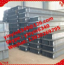 Q235/S100X50X5X7,100X100X6X8,150X100X6X9,175X175X7.5X11,200X200X8X12 Q235,Q345,A36,S235JR,SS400 12M Hot rolled structural steel