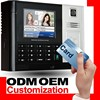 Punch Card Attendance Machine with Access Control System & HD Camera