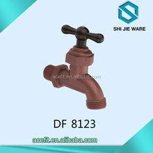 2015 plastic abs bibcock bib tap pvc water faucet