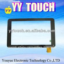 """7"""" partes del panel táctil con pantalla tablet piezas para la tableta de panel táctil"""