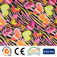 Garments fabric material for swimwear underwear and sportswear