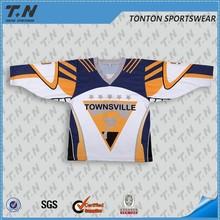 2016 Canada season sublimated hockey uniform professional factory
