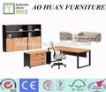 simples de madeira mesa de escritório altura regulável com bloqueio da gaveta