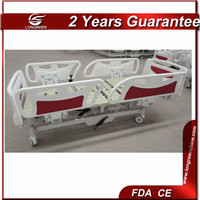 Widely used adjustable home care 5 postion electric bed
