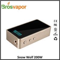 Factory wholesale snowwolf 200w, snowwolf 200w mod, snowwolf box