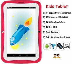 kids educational generic tablet 7 inch android 4.4 slim tablet pc