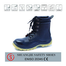 2014 new style fashion leather safety boots