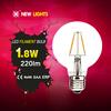 modern house bulbs price g80 2w e27 high quality led filament lamp