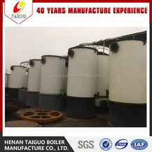 Vertical type coal burning Thermal Oil Boiler , wood pellets thermal oil heater
