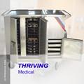 Thr-fc001 acero inoxidable eléctrica móvil carrito de comida