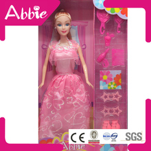 Good Price 12 inch Plastic Fashion Girl Doll Wholesale