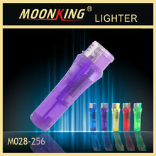 hot sale cheap plastic lighter electronic cigarette lighter with five colors