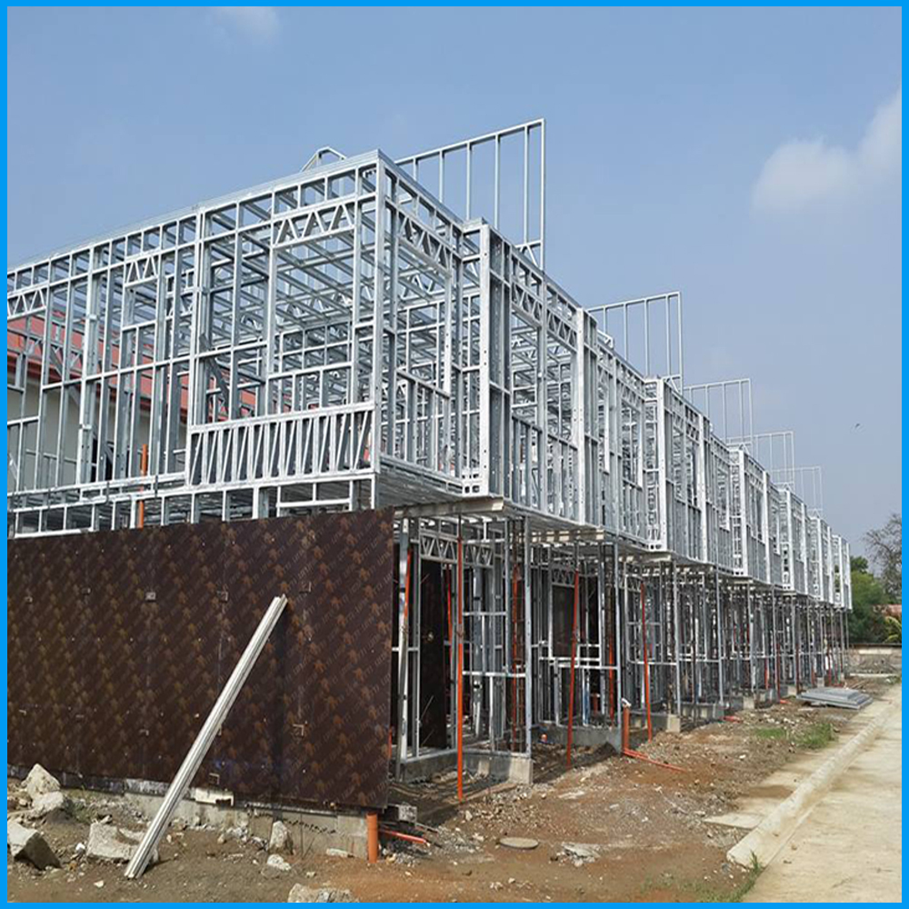 China 2015 high quality steel frame apartment building for Cost of garage apartment construction