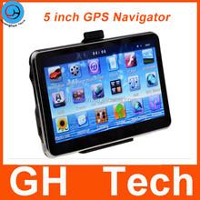 5 inch AVIN Bluetooth MTK CPU 4GB ROM Car GPS Navigator with Multi Language and Maps
