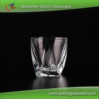 280ml Wholesale High Quality Machine Made Whisky Glass