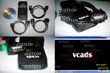 VCADS Volvo con cables completos y un ordenador portátil D630 con PTT y dev2tool.exe para el diagnóstico de camiones volvo