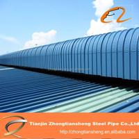 zinc steel roofing sheets weight / 24 gauge corrugated steel roofing sheet