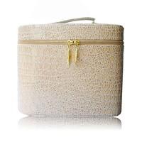 Mini slap-up PU leather cosmetic case with elegant shape RZ-SC-004