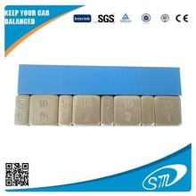(5g+10g)*4 silver coated adhesive wheel balance weight