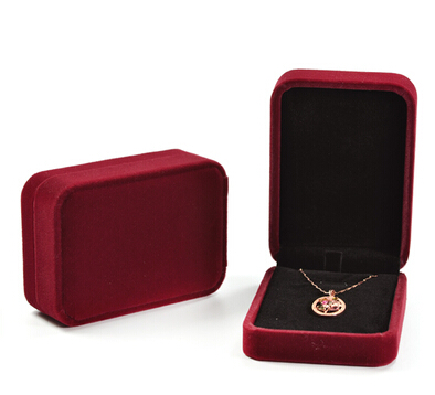 Atacado de jóias caixa de veludo pingente de alta qualidade