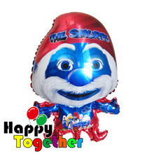 HAPPY TOGETHER Factory Wholesale Classical Blue Cartoon Charactor Shape Foil Balloons