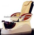 Madera silla de pedicura/pedicura spa para pies sofá silla para uñas mobiliariodesala